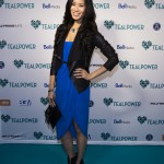 Some of CanadaÕs most notable talent came out to support TEALPOWER PRESENTS: FROM BROADWAY WITH LOVE, TEALPOWERÕs inaugural fundraising and awareness-raising event for cervical cancer last night in Toronto. Here singer, Elena Juatco poses on the 'Teal' carpet. Mark O'Neill Photo