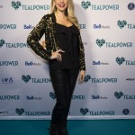 Some of CanadaÕs most notable talent came out to support TEALPOWER PRESENTS: FROM BROADWAY WITH LOVE, TEALPOWERÕs inaugural fundraising and awareness-raising event for cervical cancer last night in Toronto. Here eTalks, Danielle Graham poses on the 'Teal' carpet. Mark O'Neill Photo